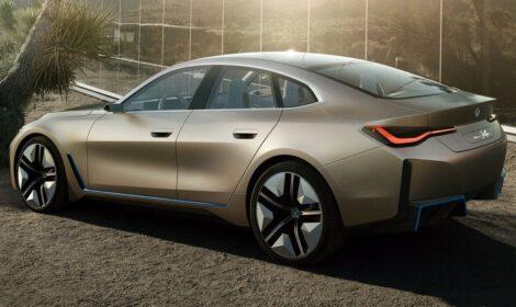 Электрокары: Представлен концепт электромобиля BMW i4
